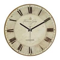 Clockmaker By Cadran Retro Vintage 30X30 Mdf Duvar Saati Cmm179