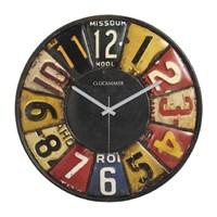 Clockmaker By Cadran Retro Vintage 30X30 Mdf Duvar Saati Cmm68