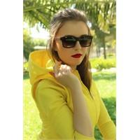 Morvizyon Clariss Marka Kare Geniş Çerçeve Tasarımlı Bayan Gözlük