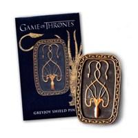 Game Of Thrones Shield Pin: Greyjoy Rozet