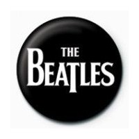 Rozet - The Beatles - White Logo