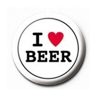 Rozet - I Love Beer