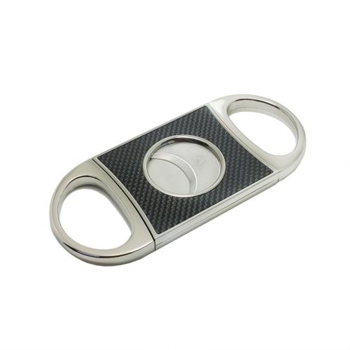 Angelo Karbonfiber Desen Çelik Puro Makası ht04