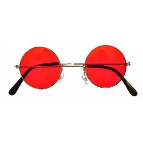 Köstebek John Lennon Gözlük Kırmızı