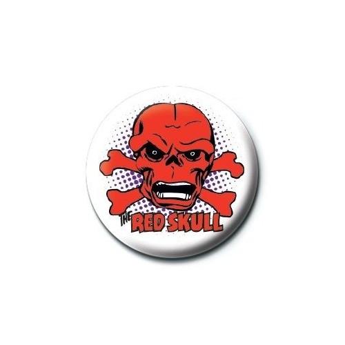 Pyramid International Rozet Marvel Retro Red Skull