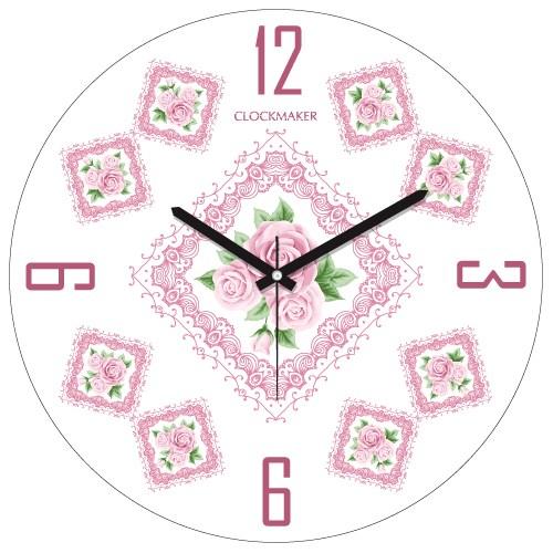 Clockmaker By Cadran 30X30 Mdf Duvar Saati Cmm128