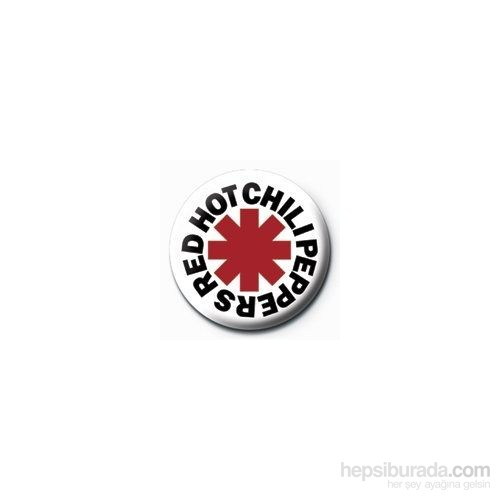Rozet - Red Hot Chilli Peppers - Logo