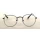 Modaroma Oval Gümüş Gözlük K
