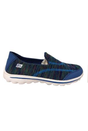 Slazenger Lane Yürüyüş Kadın Ayakkabı Mavi