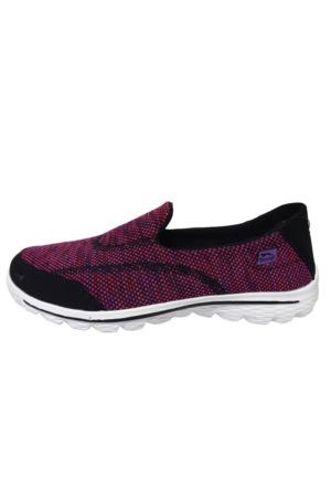 Slazenger Lane Yürüyüş Kadın Ayakkabı Fuşya