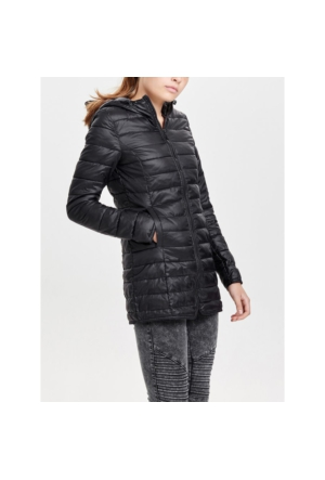 Only Mont Onltahoe Quilted Contrast Coat 15118834-BLK