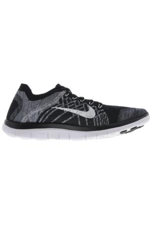 Nike Free 4.0 Flyknit 717075-001 Erkek Spor Ayakkabısı