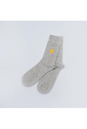 Sportsoul Erkek Çorap Gri SSSSGRY