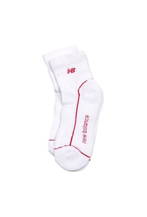 New Balance Socks Çorap Beyaz 3-40-00007-Wr