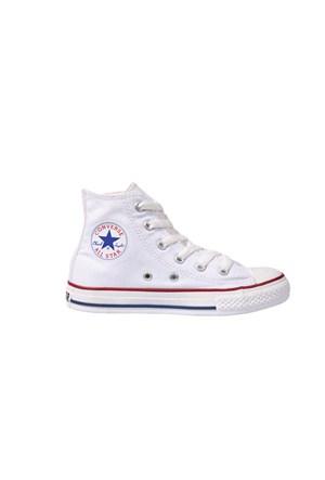 Converse 3J253 Chuck-Taylor-As-Core Optical-White HI Çocuk Spor Ayakkabı