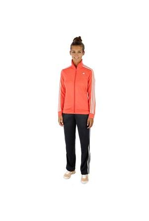 Adidas D89814 Ess 3S Knit Suit Bayan Eşofman Takımı