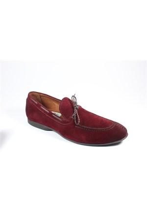 Commodore 213-402 Bordo Süet Erkek Ayakkabı