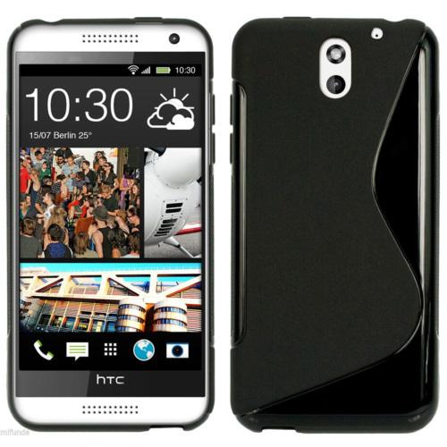 CoverZone HTC Desire 610 Kılıf Silikon S-Line Siyah