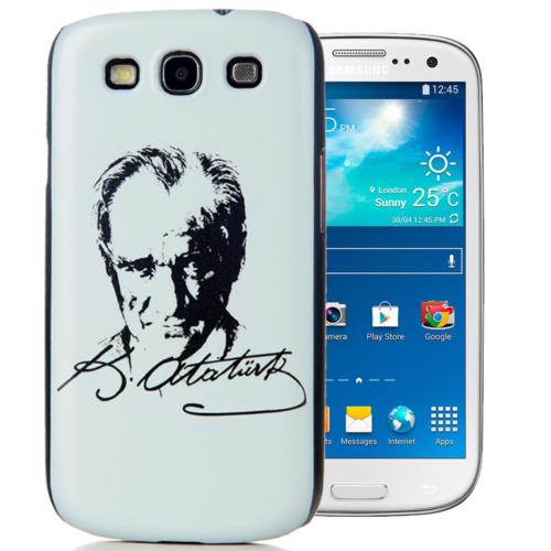 CoverZone Samsung Galaxy S3 Kılıf Resimli Arka Kapak No: 38