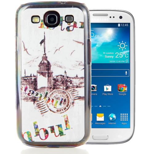 CoverZone Samsung Galaxy S3 Kılıf Resimli Arka Kapak No: 33