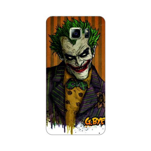 Bordo Samsung Galaxy S7 Edge Kapak Kılıf Renkli Joker Baskılı Silikon
