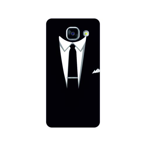 Bordo Samsung Galaxy A3 2016 Kapak Kılıf Baskılı Silikon