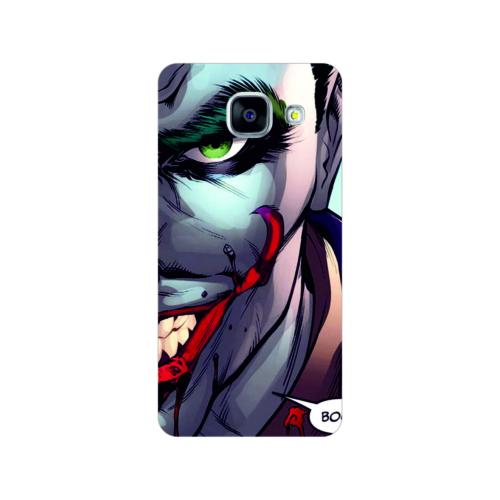 Bordo Samsung Galaxy A5 2016 Kapak Kılıf Joker Baskılı Silikon