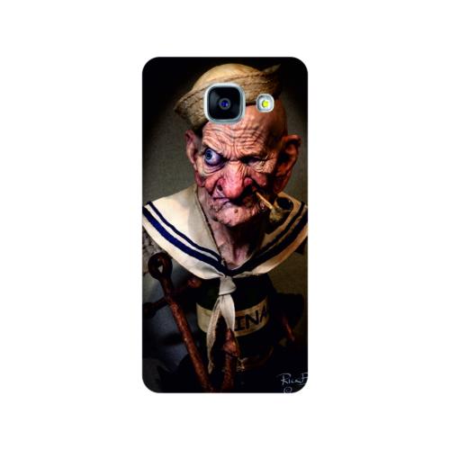 Bordo Samsung Galaxy A5 2016 Kapak Kılıf Temel Reis Baskılı Silikon