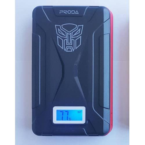 Proda Powerbank 15000Mah Taşınabilir Şarj Aleti Powerbank-Siyah