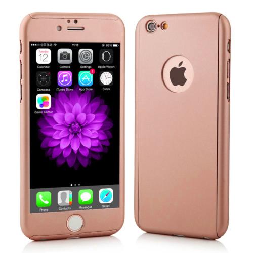 Markaawm Apple iPhone 6 Kılıf 6S Kılıf 360 Derece Koruma