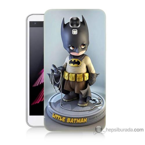 Bordo Lg X Screan Kapak Kılıf Batman Baskılı Silikon