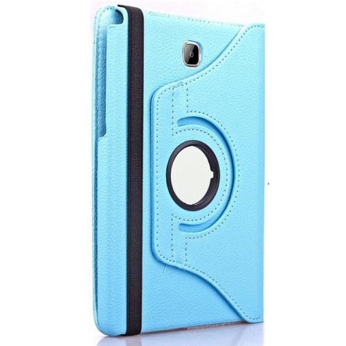 Kılıfland Samsung Galaxy Tab A T550 Kılıf 360 Standlı Turkuaz+Film+Kalem