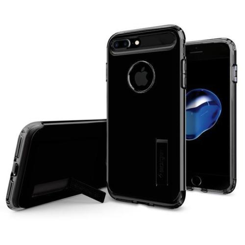 Spigen Apple iPhone 7 Plus Kılıf Slim Armor Jet Black 043CS20851