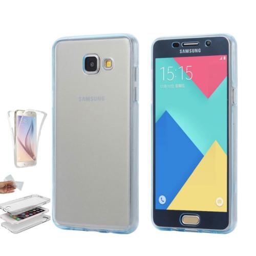 Teleplus Samsung Galaxy A3 2016 Ön & Arka 360 Full Korumalı Silikon Kılıf