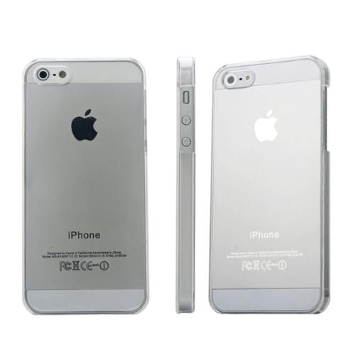 CaseUp iPhone 5 5S transparant şeffaf kristal kılıf Kırılmaz Cam
