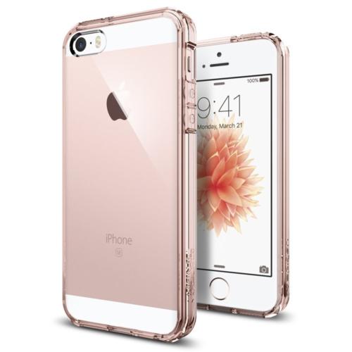 Spigen iPhone Se/5S/5 Kılıf Ultra Hybrid Rose Crystal