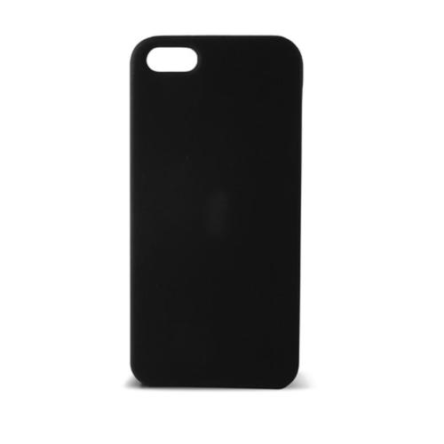 Case 4U Apple İphone 5S Sert Arka Kapak Siyah