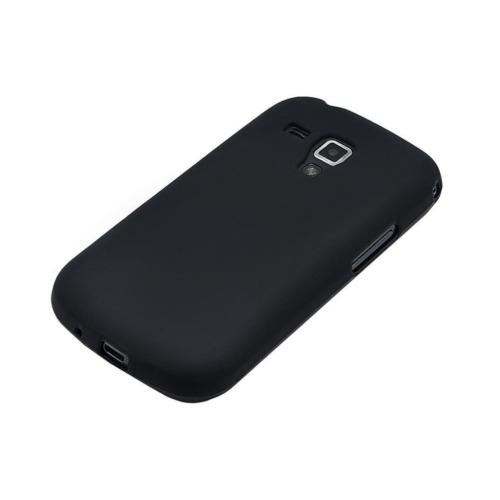 Case 4U Samsung Galaxy Trend S7560 Siyah Kapak