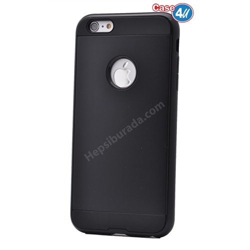 Case 4U Apple İphone 4S Verus Korumalı Kapak Siyah