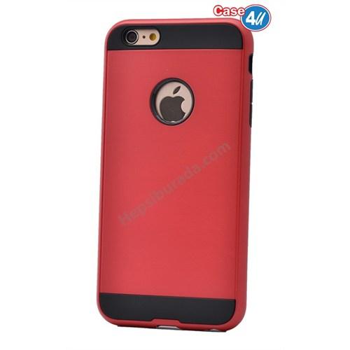 Case 4U Apple İphone 4 Verus Korumalı Kapak Kırmızı