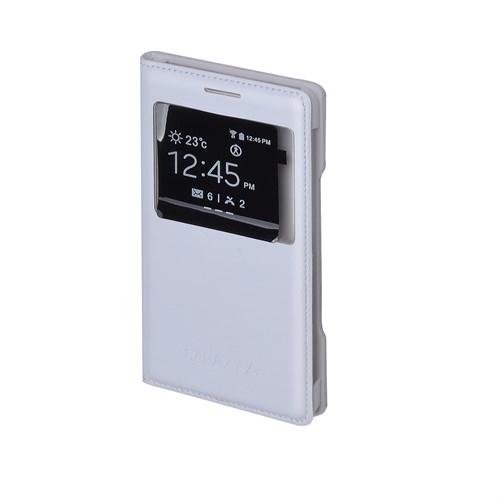 Inovaxis Samsung A5 Flip Cover Kılıf Kapak Beyaz