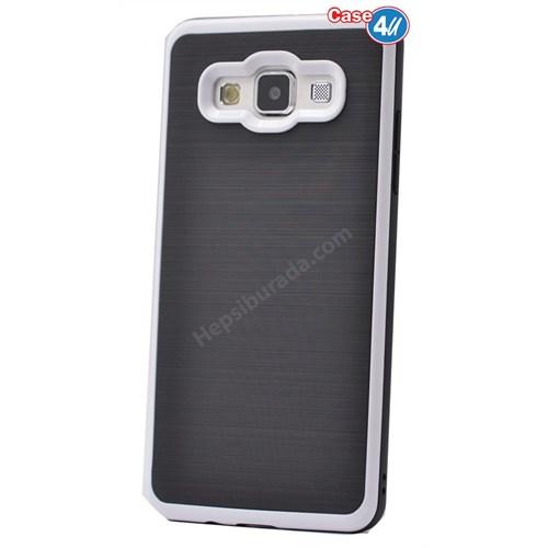 Case 4U Samsung Galaxy J1 Infinity Koruyucu Kapak Beyaz