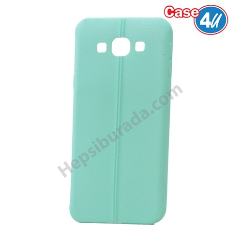 Case 4U Samsung Galaxy On5 Desenli Silikon Kılıf Yeşil