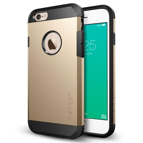 Spigen iPhone 6s/6 Kılıf Tough Armor Champagne Gold - SGP11613