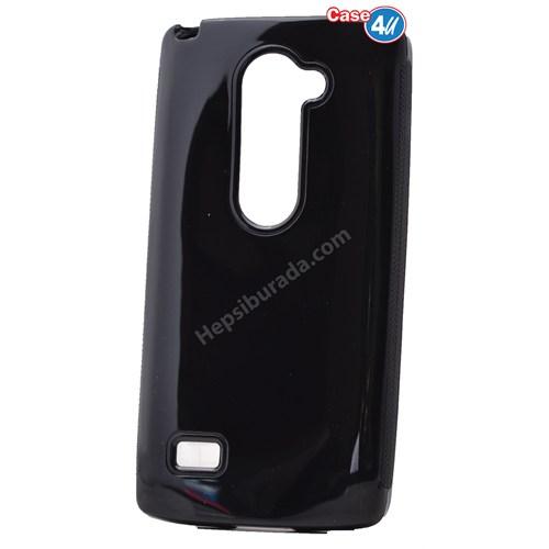 Case 4U Lg Leon Soft Silikon Kılıf Siyah