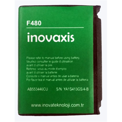 Inovaxis Samsung F480 A767/F480/M110/W509/W569 Batarya