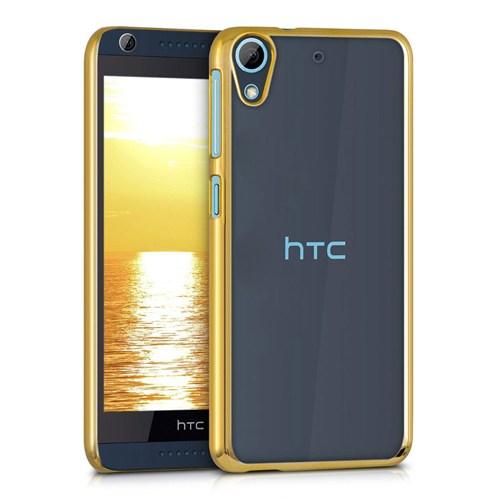 Microsonic Htc Desire 626 Kılıf Flexi Delux Gold