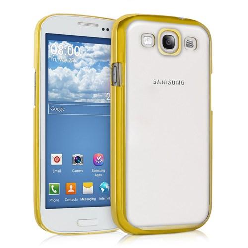 Microsonic Samsung Galaxy S3 Kılıf Flexi Delux Gold