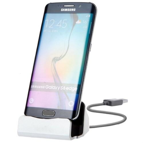 Microsonic Micro Usb'li Android Telefonlar İçin Universal Masaüstü Data Ve Şarj Cihazı