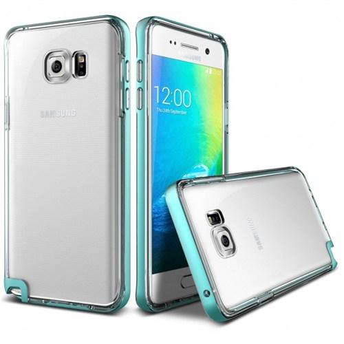 Verus Samsung Galaxy Note 5 Kılıf Crystal Bumper Mint
